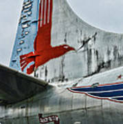 Plane Tail Wing Eastern Air Lines Poster by Paul Ward
