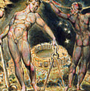 Plate 100 From Jerusalem Poster by William Blake