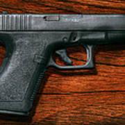 Police - Gun - The Modern Gun  Poster by Mike Savad