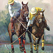 Polo Poster by Laurie Hein
