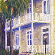 Poogan's Porch Poster by Patricia Huff