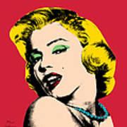 Pop Art Poster by Mark Ashkenazi