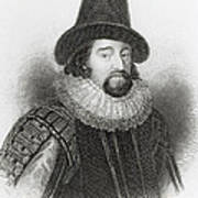Portrait Of Francis Bacon Poster by English School