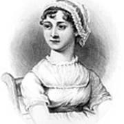Portrait Of Jane Austen Poster by English School