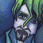 Portrait Of Kurt Poster by Kamil Swiatek