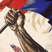 Poster For Liberation Of France From World War II 1944 Poster by Anonymous