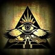 Power Pyramid Poster by Milton Thompson