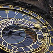 Prague Orloj Poster by Adam Romanowicz