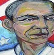 President Barack Obama  Poster by Derrick Hayes