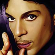 Prince Artwork Poster by Sheraz A