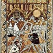 Psalter Of Saint Louis 13th C.. Abraham Poster by Everett