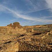 Pueblo Bonito Walls And Rooms Poster by Feva  Fotos
