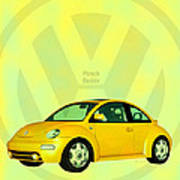 Punch Buggy Poster by Bob Orsillo