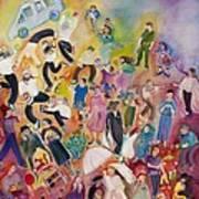 Purim Poster by Chana Helen Rosenberg
