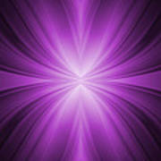 Purple Abstract Background Poster by Somkiet Chanumporn