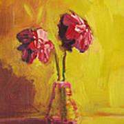 Purple Flowers Poster by Patricia Awapara