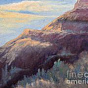 Purple Mountain Poster by Arlene Baller