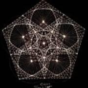 Quantum Star II Poster by Jason Padgett
