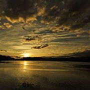 Queen Charlotte-haida Gwaii-sunset-1 Poster by Evan Spellman