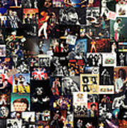 Queen Collage Poster by Taylan Soyturk