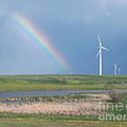 Rainbow Delight Poster by Angela Pelfrey