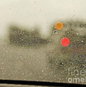 Rainy Day Perspective Poster by MaryJane Armstrong