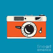 Rangefinder Film Camera Poster by Igor Kislev