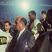 Red Auerbach Boston Celtics Legend Poster by Retro Images Archive