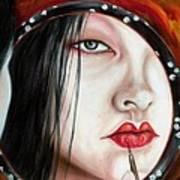 Red Poster by Hiroko Sakai