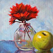 Red Still  Poster by Nancy Merkle