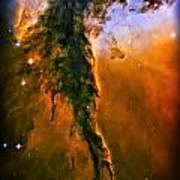 Release - Eagle Nebula 3 Poster by The  Vault - Jennifer Rondinelli Reilly