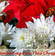 Remembering You This Christmas Poster by Dawn Currie