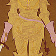 Reproduction Of A Poster Advertising Poster by Georges de Feure