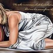 Revelations Three Verse Five Poster by Ilse Kleyn