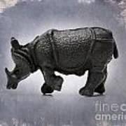 Rhinoceros Poster by Bernard Jaubert