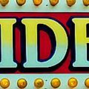 Rides Poster by Skip Willits