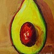 Ripe Avocado Poster by Patricia Awapara