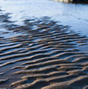 Ripples In The Sand Poster by Anne Gilbert