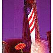 Rise Of Freedom 2012 Poster by Kenneth De Tore