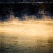 River Smoke Poster by Bob Orsillo