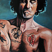 Robert De Niro In Cape Fear Poster by Paul Meijering