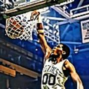 Robert Parish  Poster by Florian Rodarte
