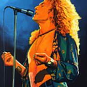 Robert Plant Poster by Paul Meijering
