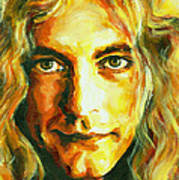 Robert Plant. The Enchanter Poster by Tanya Filichkin