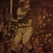 Roberto Clemente Poster by Christy Saunders Church