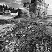 Rocks Poster by Arkady Kunysz