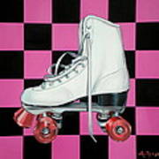 Roller Skate Poster by Anthony Mezza