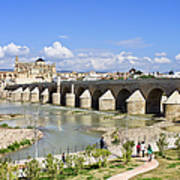 Roman Bridge In Cordoba Poster by Artur Bogacki