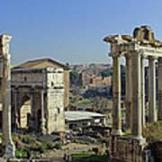 Roman Forum  Poster by Tony Murtagh