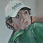 Rory Mcilroy Poster by John Halliday